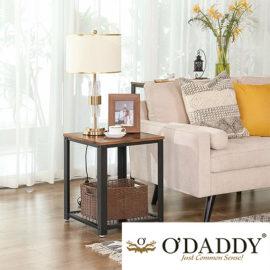 O Daddy Home Living Sidetable Hout Bijzettafel Sfeer