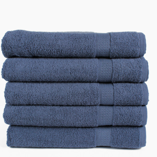 5 Pack Blauw Handdoeken