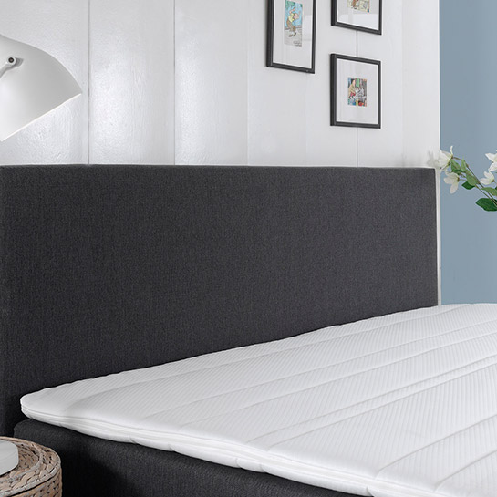 Boxspring Comfort 2.0 Antraciet Close Up