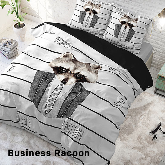 Business Racoon Hoofd
