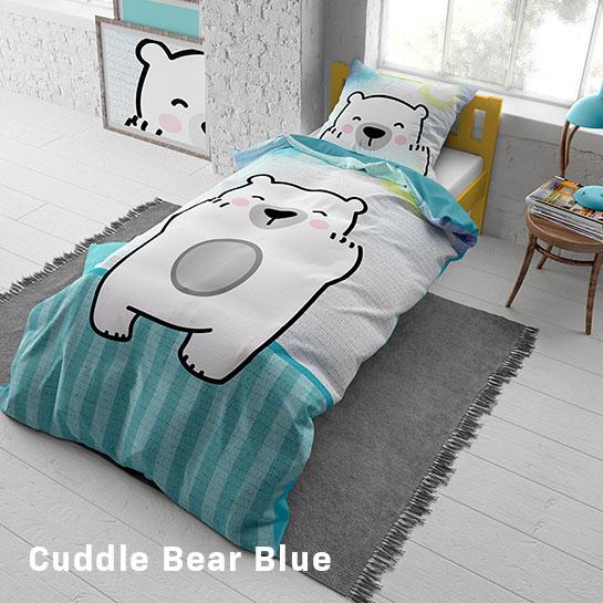 Cuddle Bear Blue Hoofd