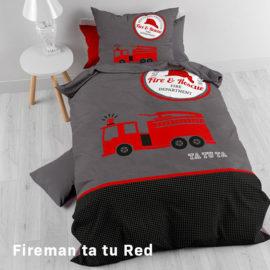 Fireman Ta Tu Red Hoofd