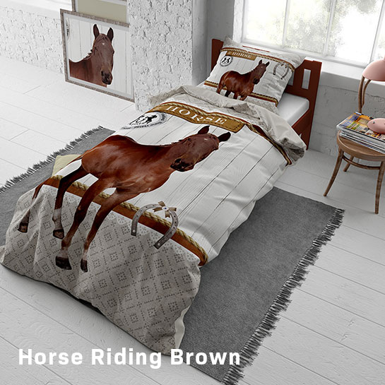 Horse Riding Brown Hoofd