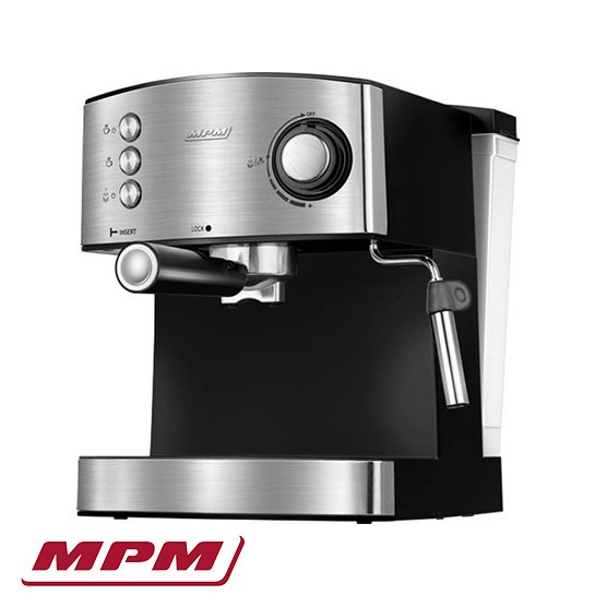 Mpm Rvs Espressomachine Gemalen Koffiebonen Hoofd