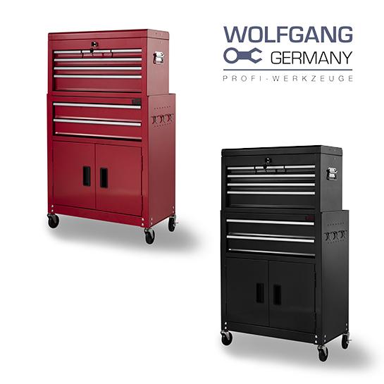 Metalen Trolley Wolfgang Hoofd