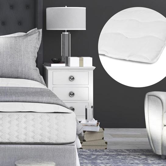 Sleeptime Luxury Hotel Matras Topper Hoofd