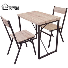 Urban Living Eetkamertafel Met 2 Stoelen Hoofd