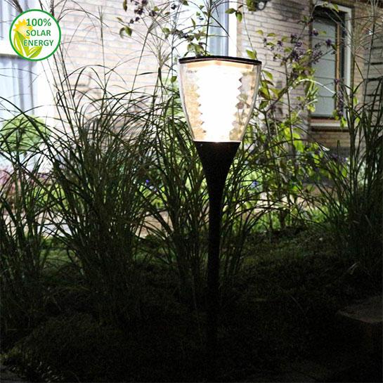Odaddy Solar Tuinlamp Hoog Pegasus Sfeer 2