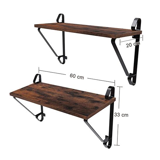 Wandplank Set Maten