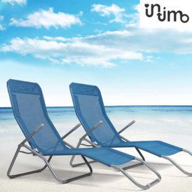 Relax Ligstoel (2 Pack) Blue Sfeer