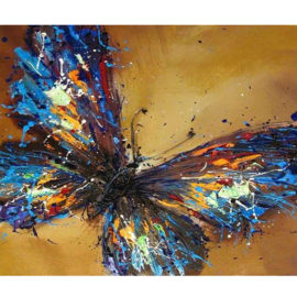 Schilderen Op Nummer Vlinder