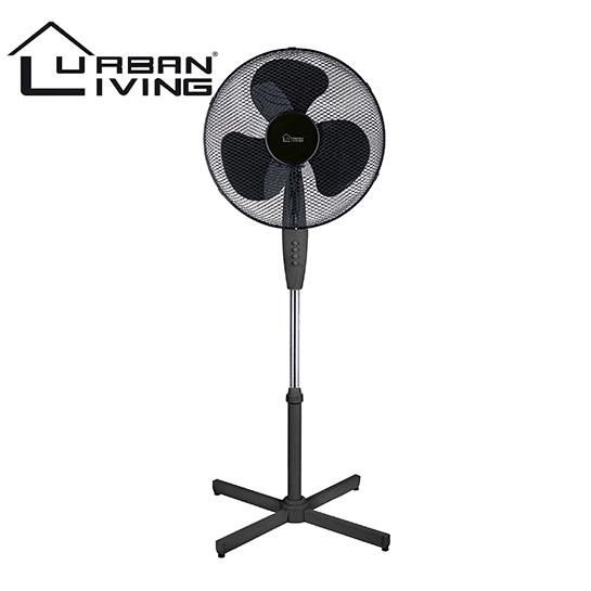 Ventilator Zwart Vrijstaand
