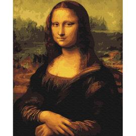 Mona Lisa Schilderen Op Nummers