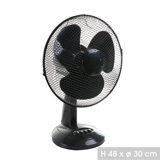 Kleine Ventilator Zwart Maten