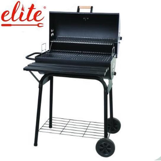 Complete Smoker Barbecue Hoofd