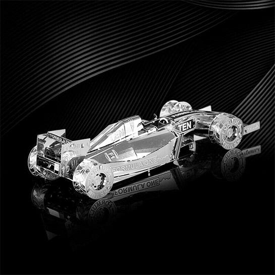 Metalen 3d Auto Achterkant