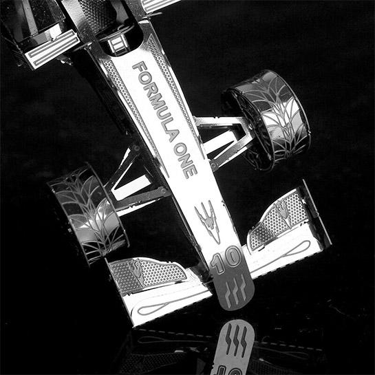 Metalen 3d Auto Bovenkant
