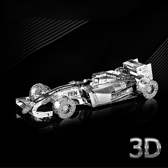 Metalen 3d Auto Voorkant