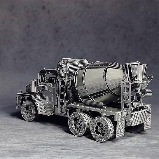 Metalen 3d Vrachtwagen Achterkant