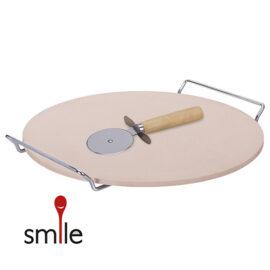 Smile Pizza Stone Hoofd