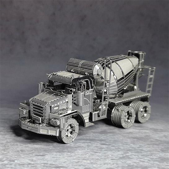 Metalen 3d Vrachtwagen Voorkant