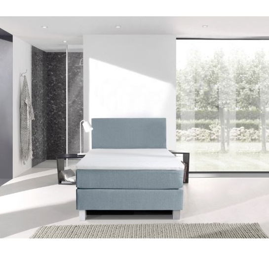 1 Persoons Boxspring Blauw