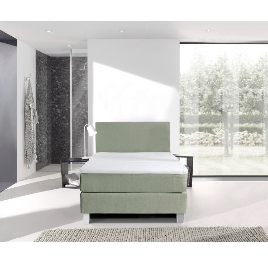 Boxspring 1 Persoons Groen