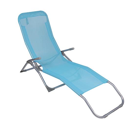 Ligstoelen Blauw