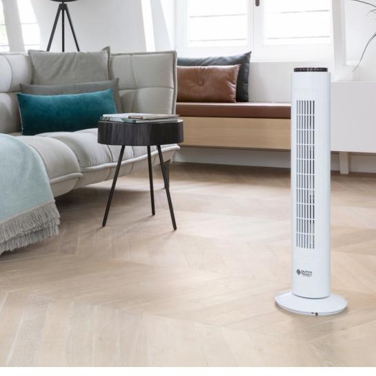 Ventilator Dutch Originals Wit
