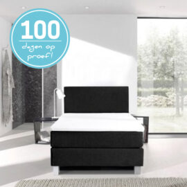 Boxspring Leatherlook 100 Dagen
