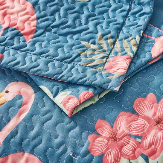 Close Up Flamingo Blue 545x545