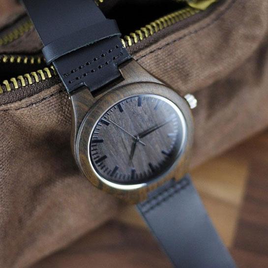 Houten Horloge 'to My Son' Sfeer 2