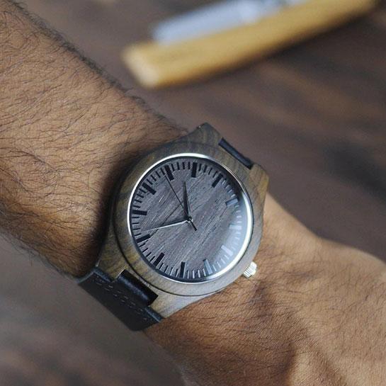 Houten Horloge 'to My Son' Sfeer 3