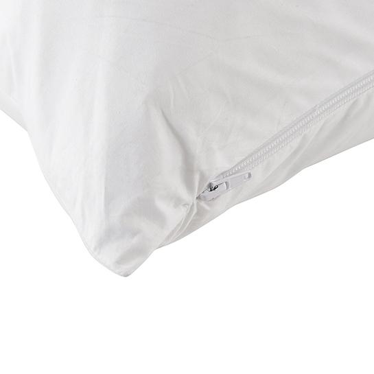 Hug Pillow White Close Up