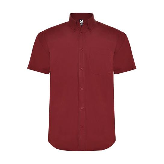Overhemd Korte Mouwen Rood 545x545