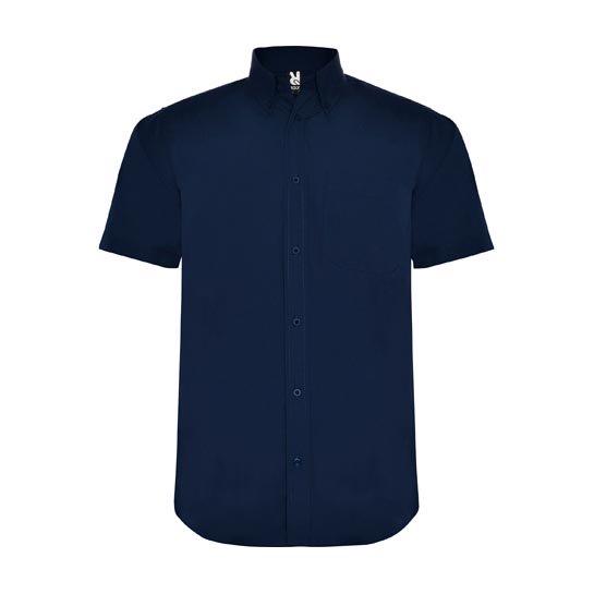 Overhemd Korte Mouwen Donkerblauw 545x545