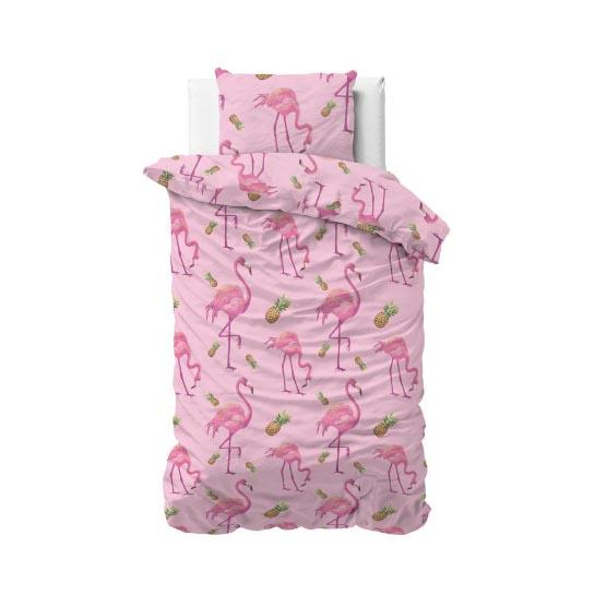 1 Persoons Volledig Tropical Flamingo Pink