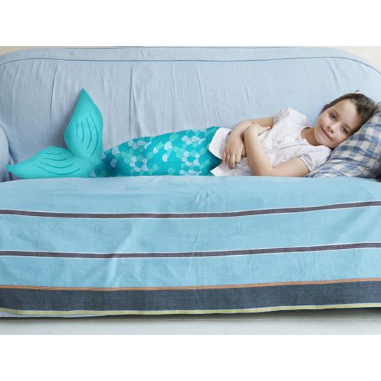 Achoka Snuggle Blanket Deken Zeemeermin Sfeer