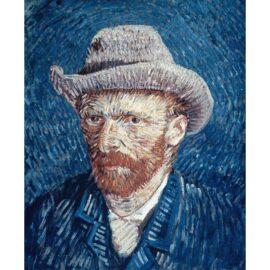 Van Gogh – Zelfportret Met Grijze Vilthoed