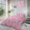 Volledig Zijaanzicht Tropical Flamingo Pink