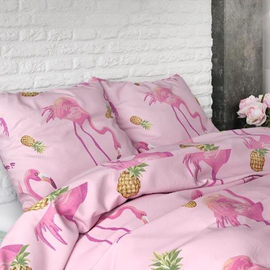 Hoofdeinde Tropical Flamingo Pink