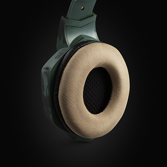 Army Gaming Headset Images Close Up 1