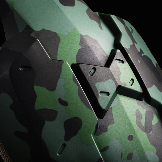 Army Gaming Headset Images Close Up 2