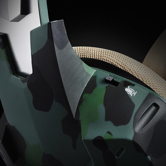 Army Gaming Headset Images Close Up 3