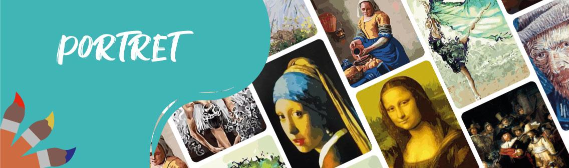 Collage Portret