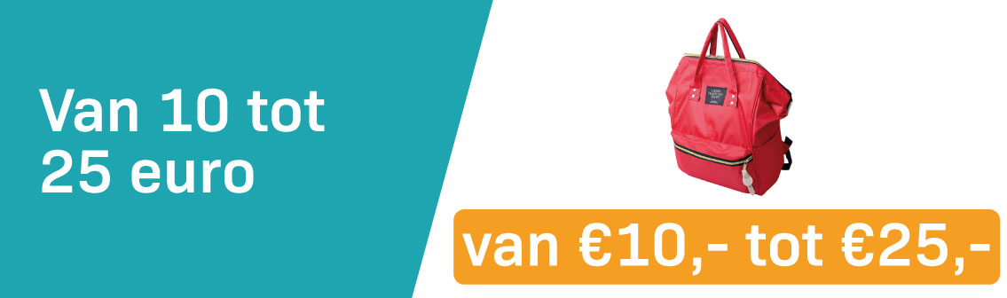 Van 10 Tot 25 Euro
