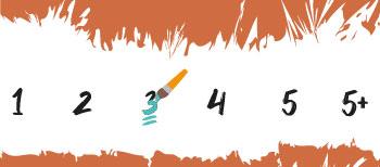 Moeilijkheidsgraad 3 Schilderen Op Nummers Final