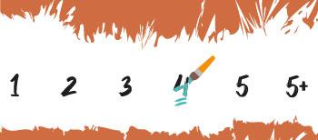 Moeilijkheidsgraad 4 Schilderen Op Nummers