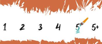 Moeilijkheidsgraad 5 Schilderen Op Nummers Final