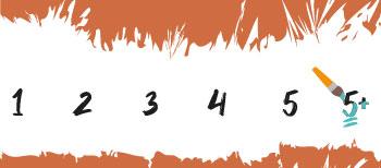 Moeilijkheidsgraad 5+ Schilderen Op Nummers Final